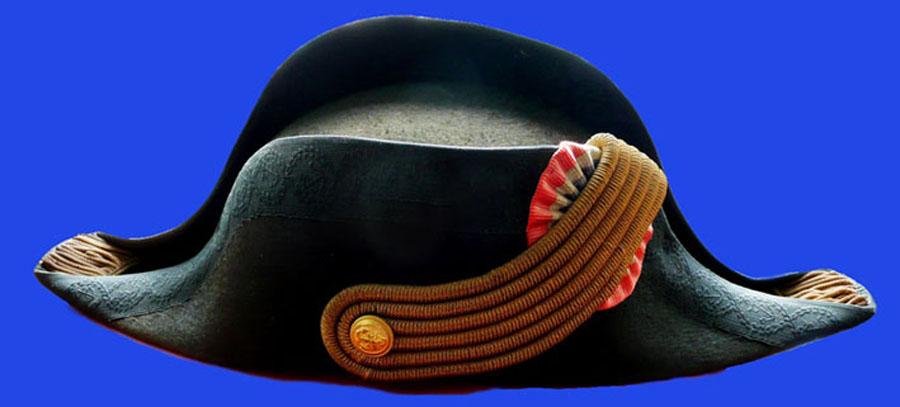 Bicorne d'officier de marine