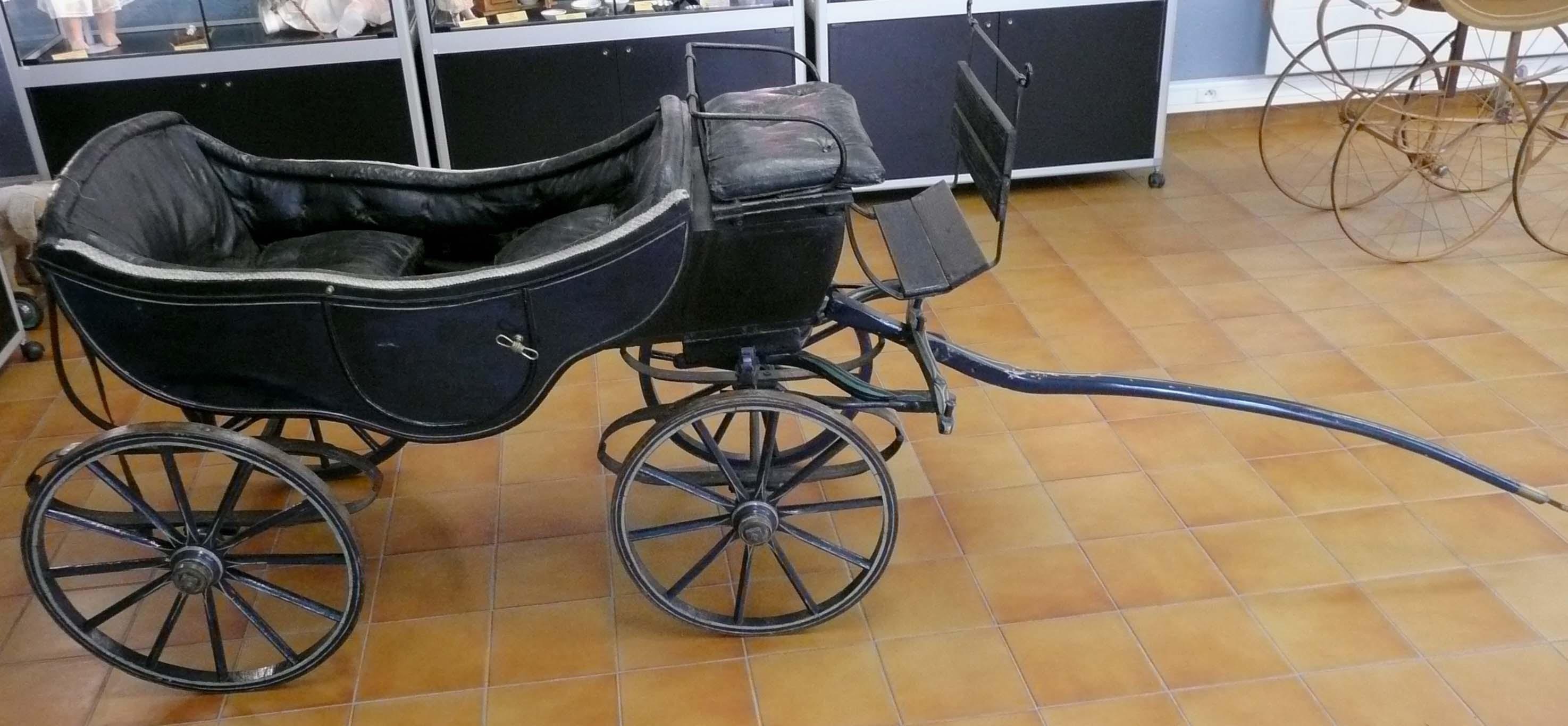 Calèche de pars vers 1850