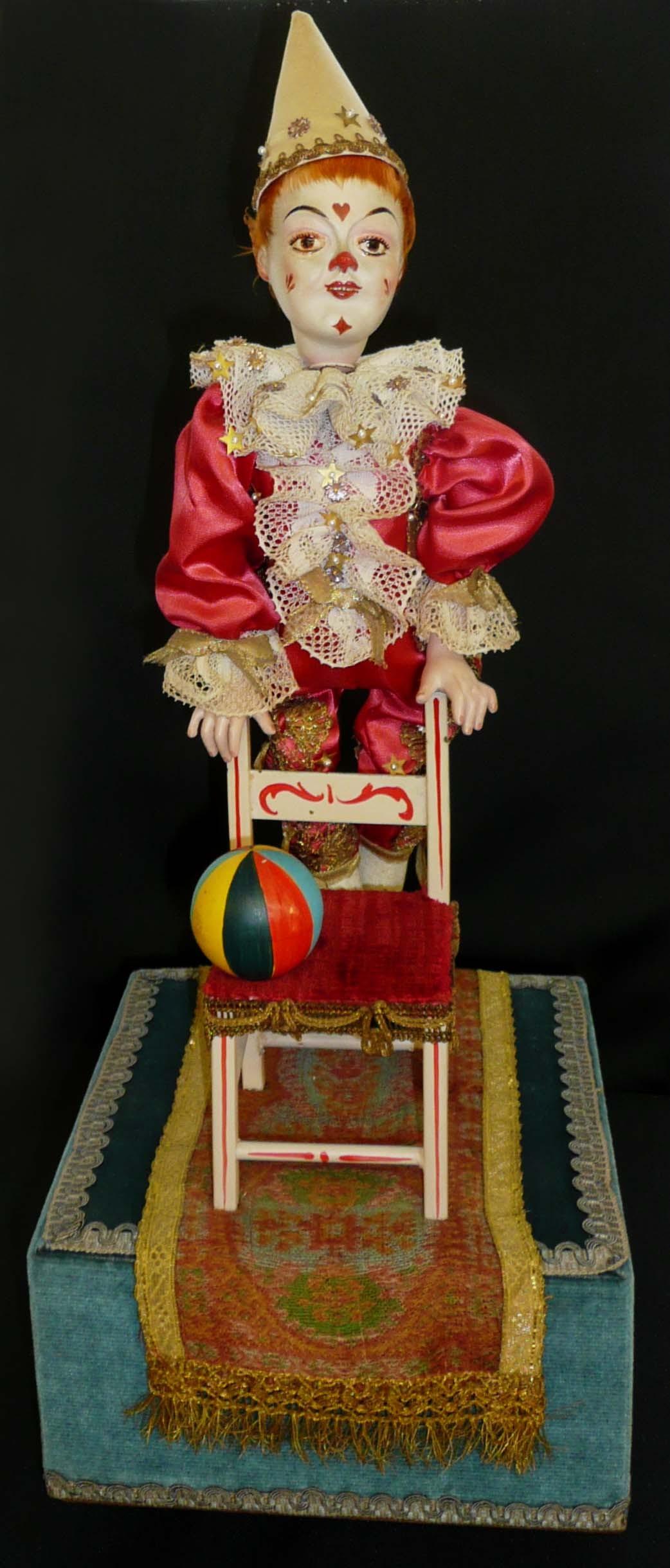 Clown équilibriste - vers 1940