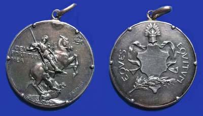 Médaille d'Equateur