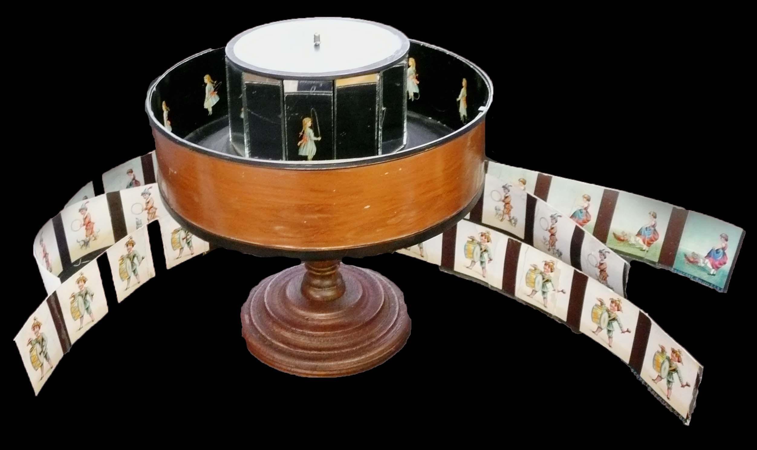 Praxinoscope avec bandes - fin 19ème siècle