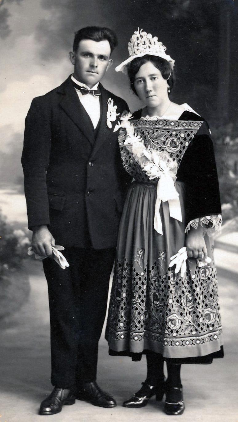 11 le berrigaud joseph et jegousse marie louise baden 1932