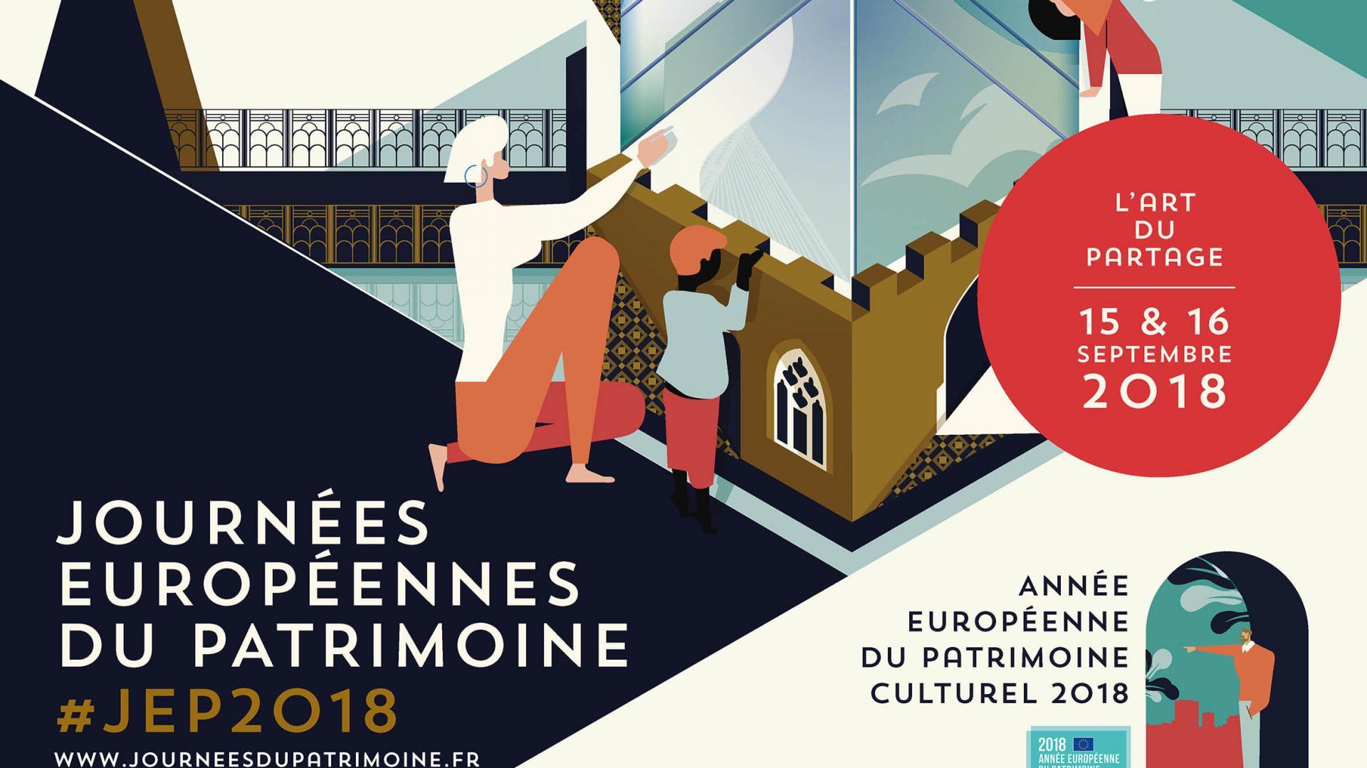 Journees europeennes du patrimoine 2018 bandeau